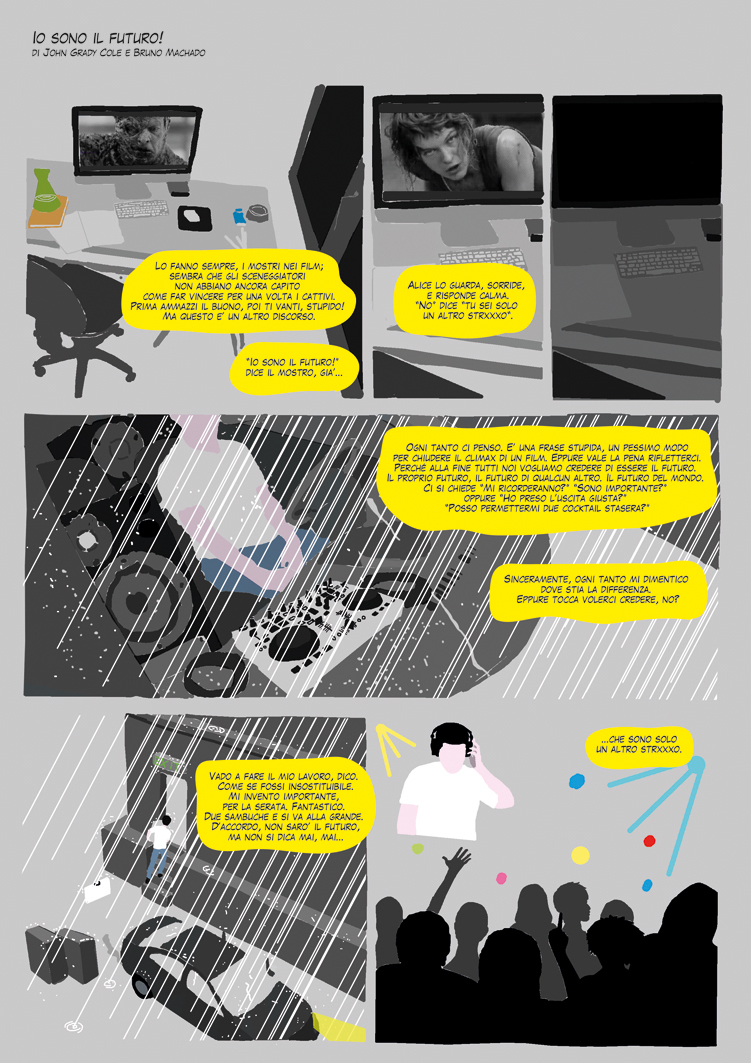 Io sono il futuro_Graphic Novel