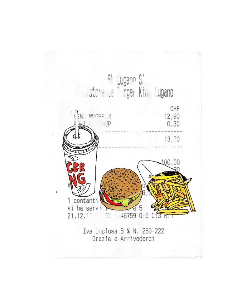 Fast Food Bill